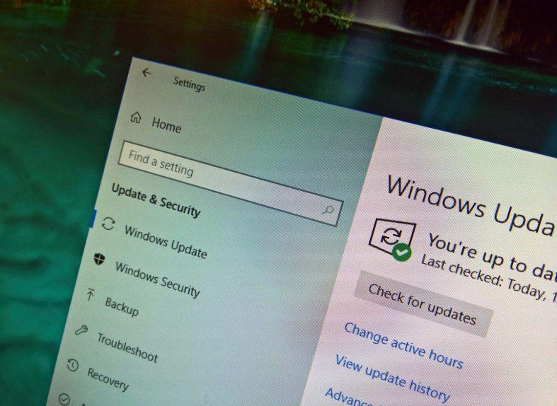 Windows 10 version 1803 update settings