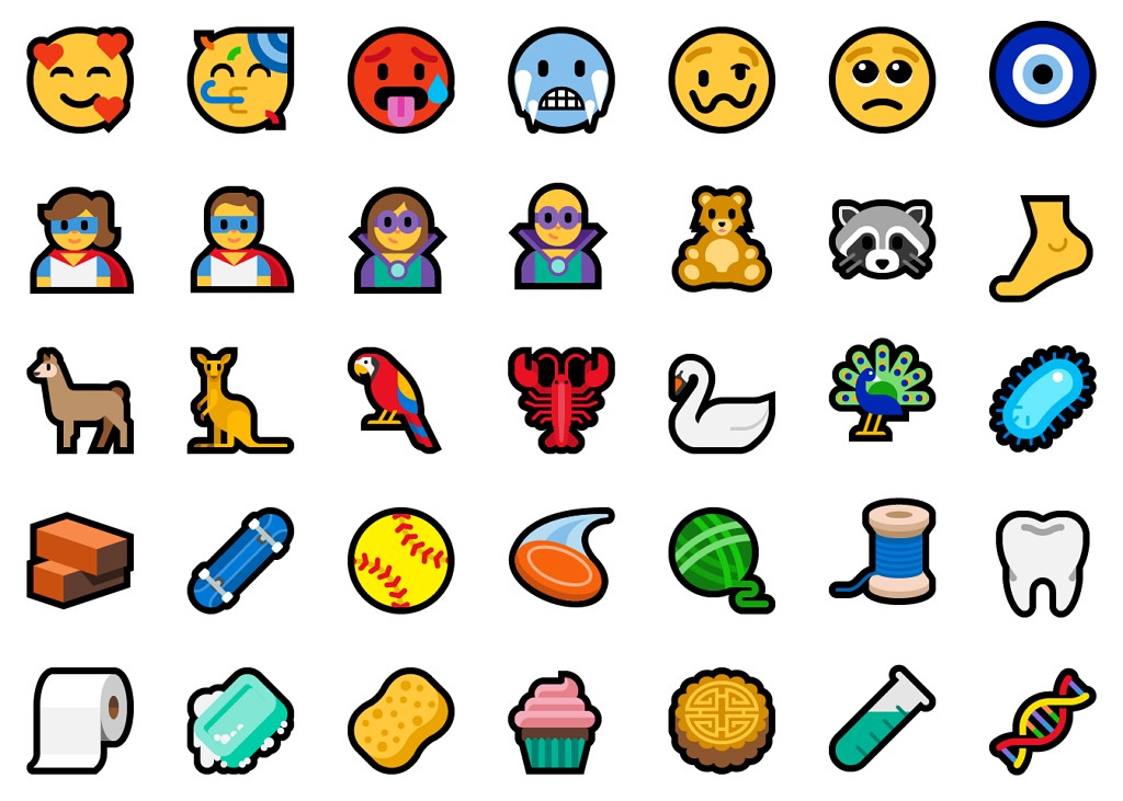 Emoji version 11