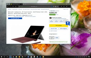 Surface Go discount from Best Buy