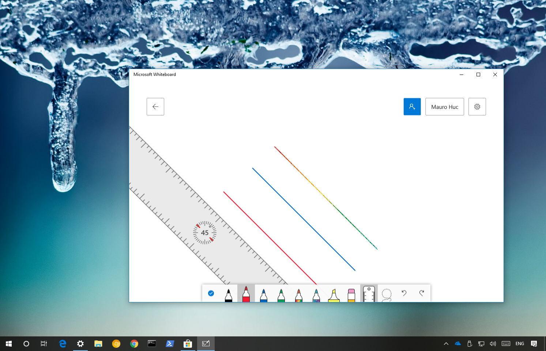 Whiteboard app for Windows 10