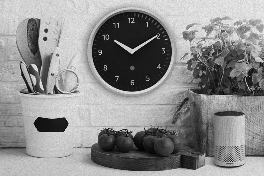 Amazon Echo Wall Clock on this Weekly Digest