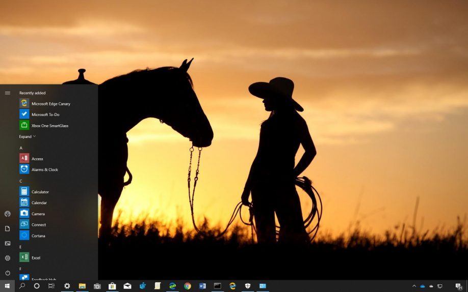 Ranch Hands theme for Windows 10
