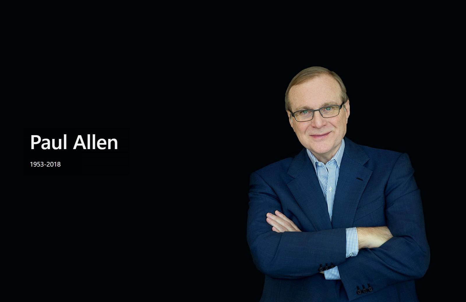 Paul Allen, Microsoft co-founder