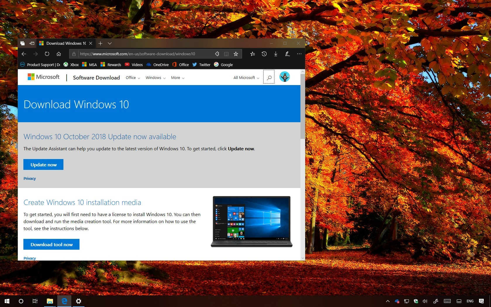 Windows 10 version 1809 release again on November 13