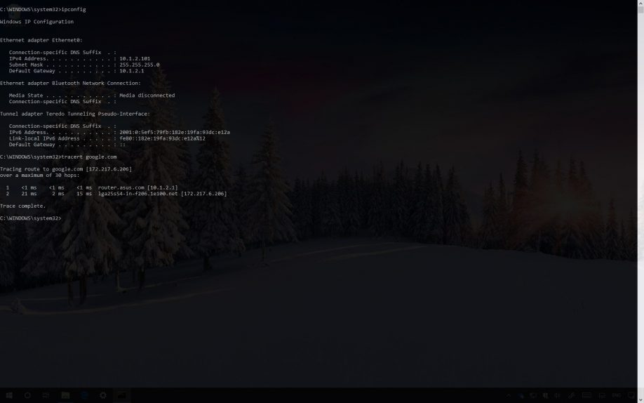 Command Prompt in fullscreen