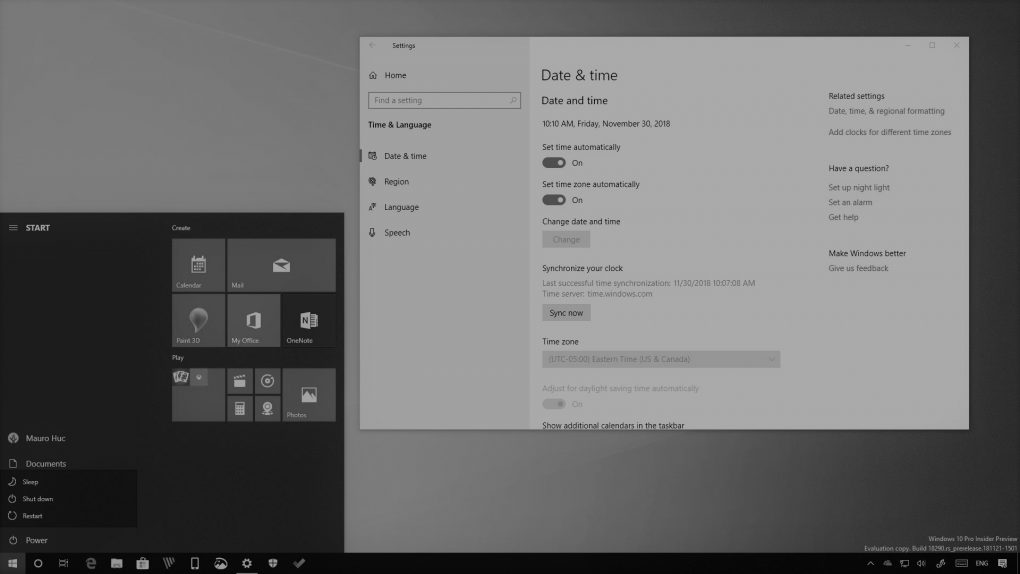Windows 10 build 18290 in this Weekly Digest