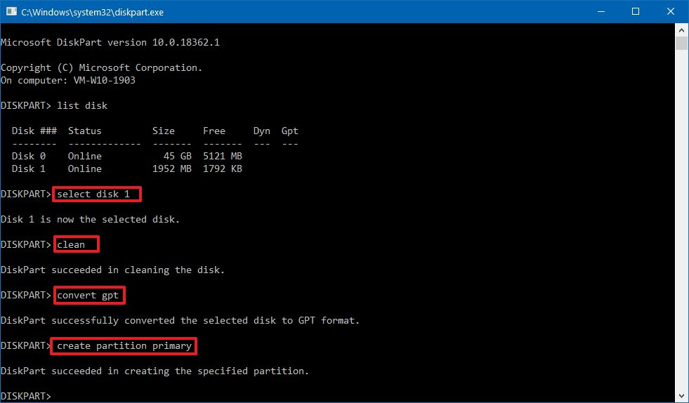 Creating a GPT partition to build a Mac OS X bootable drive on Windows 10