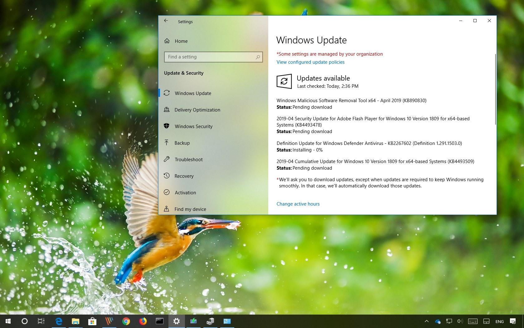 Windows 10 update KB4493509 (build 17763 437) releases