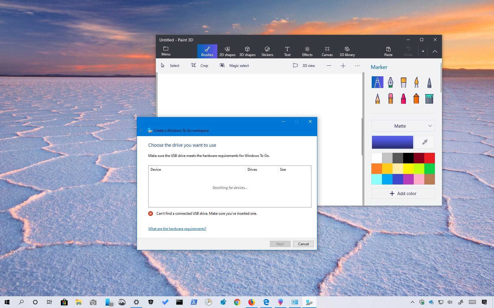 Windows 10 version 1903, May 2019 Update, removed features