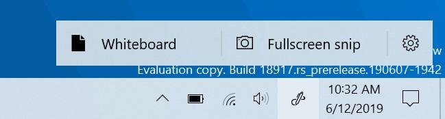 Windows Ink Workspace for Windows 10 20H1
