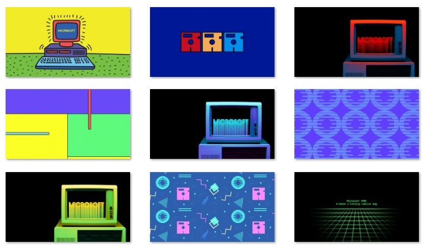 Windows Throwback wallpapers