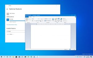 Uninstall WordPad from Windows 10