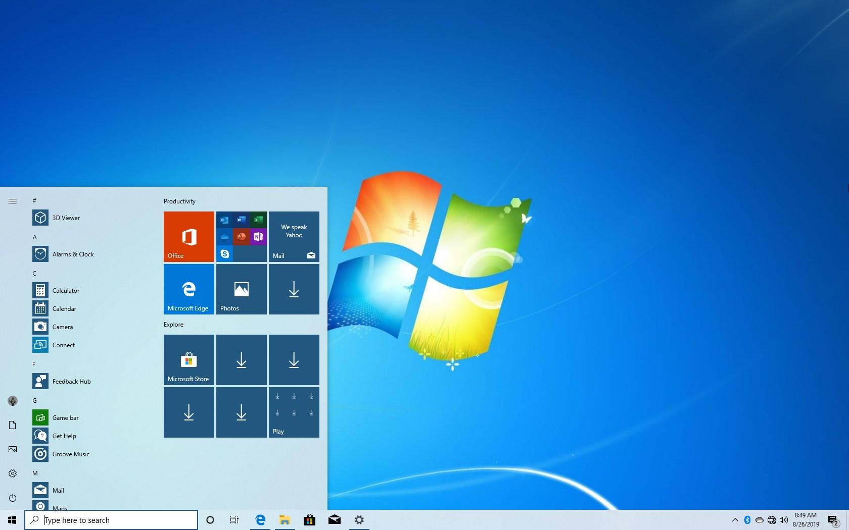 Windows 7 to Windows 10 clean upgrade
