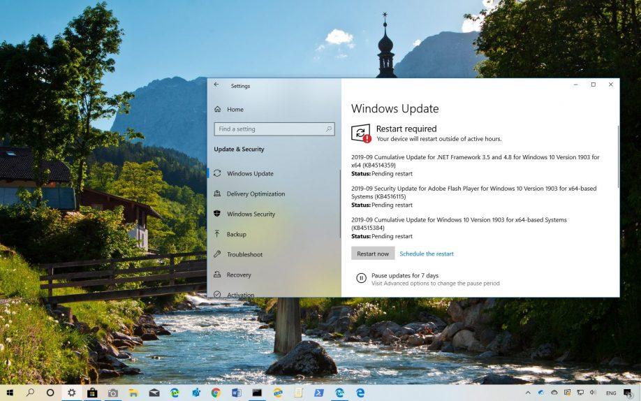 KB4515384 for Windows 10