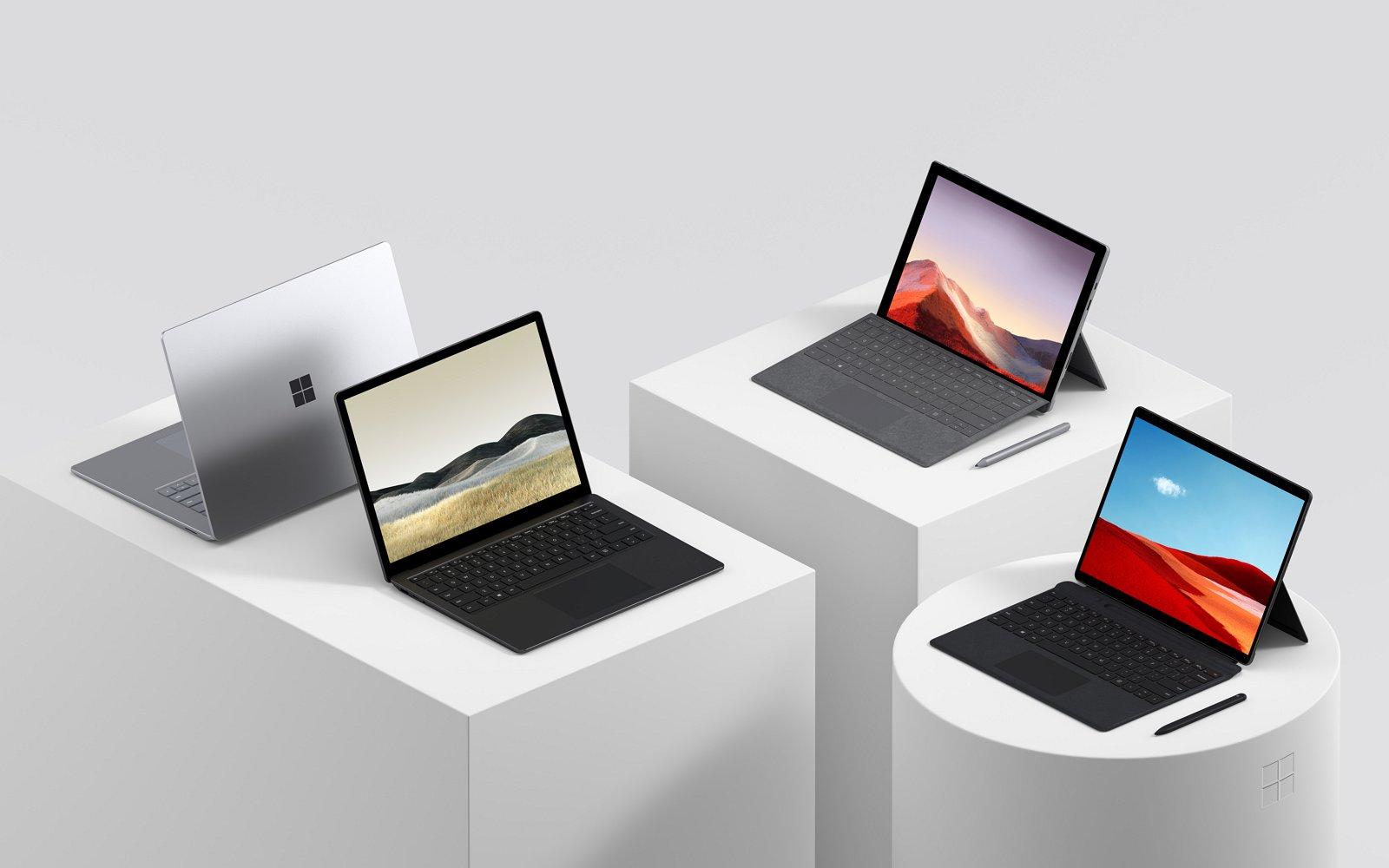 Surface 2019 group (image source Microsoft)