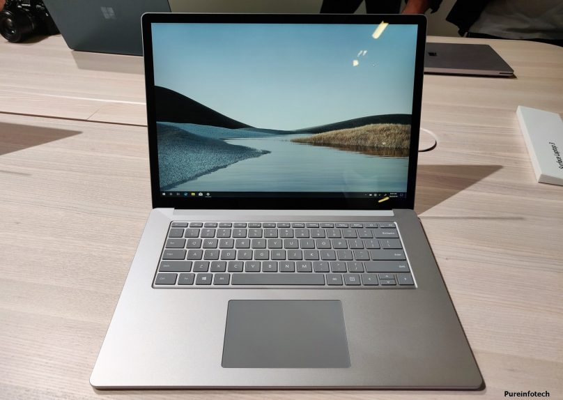 Surface Laptop 3 metal finish