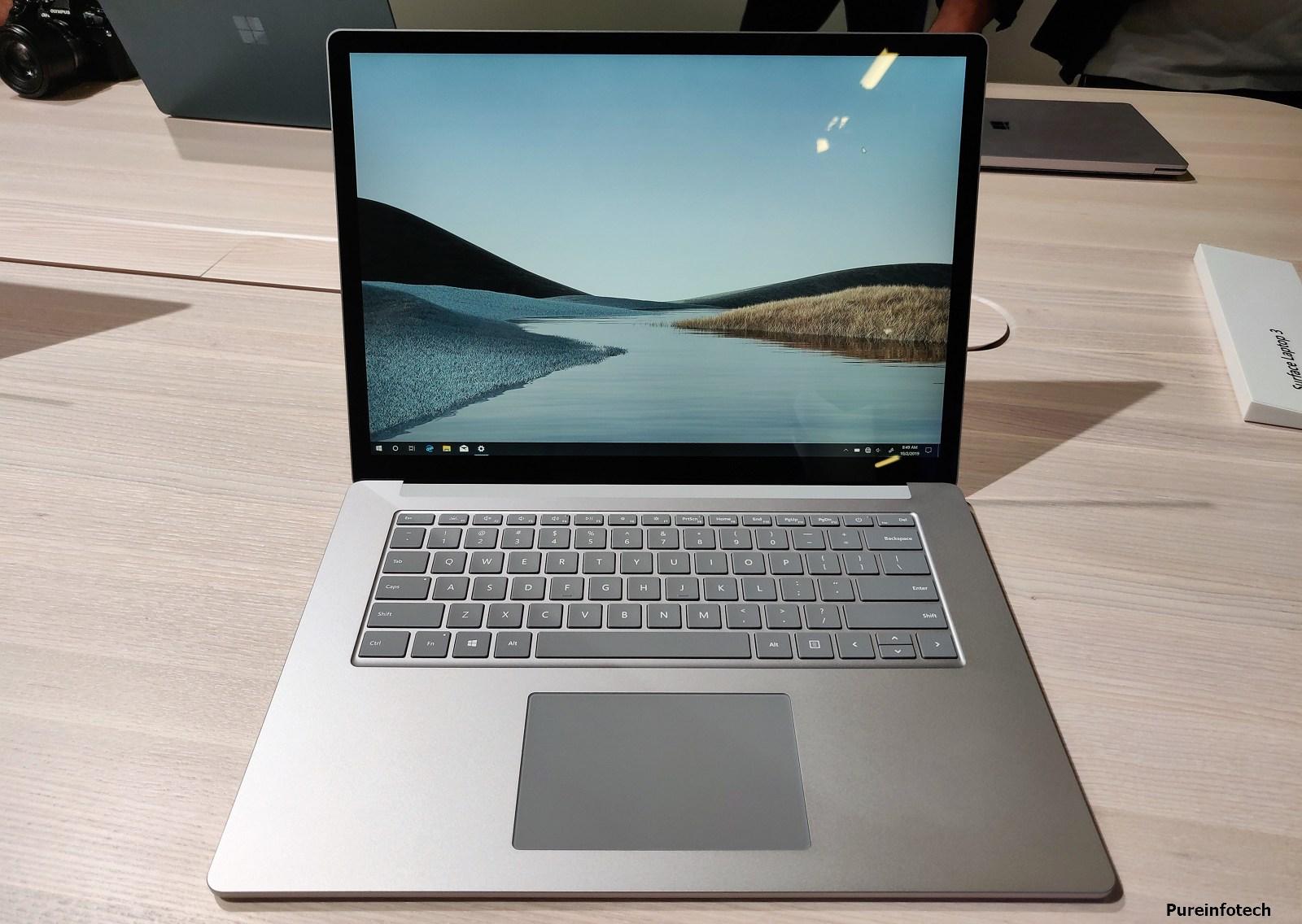 Surface Laptop 3 metal finish