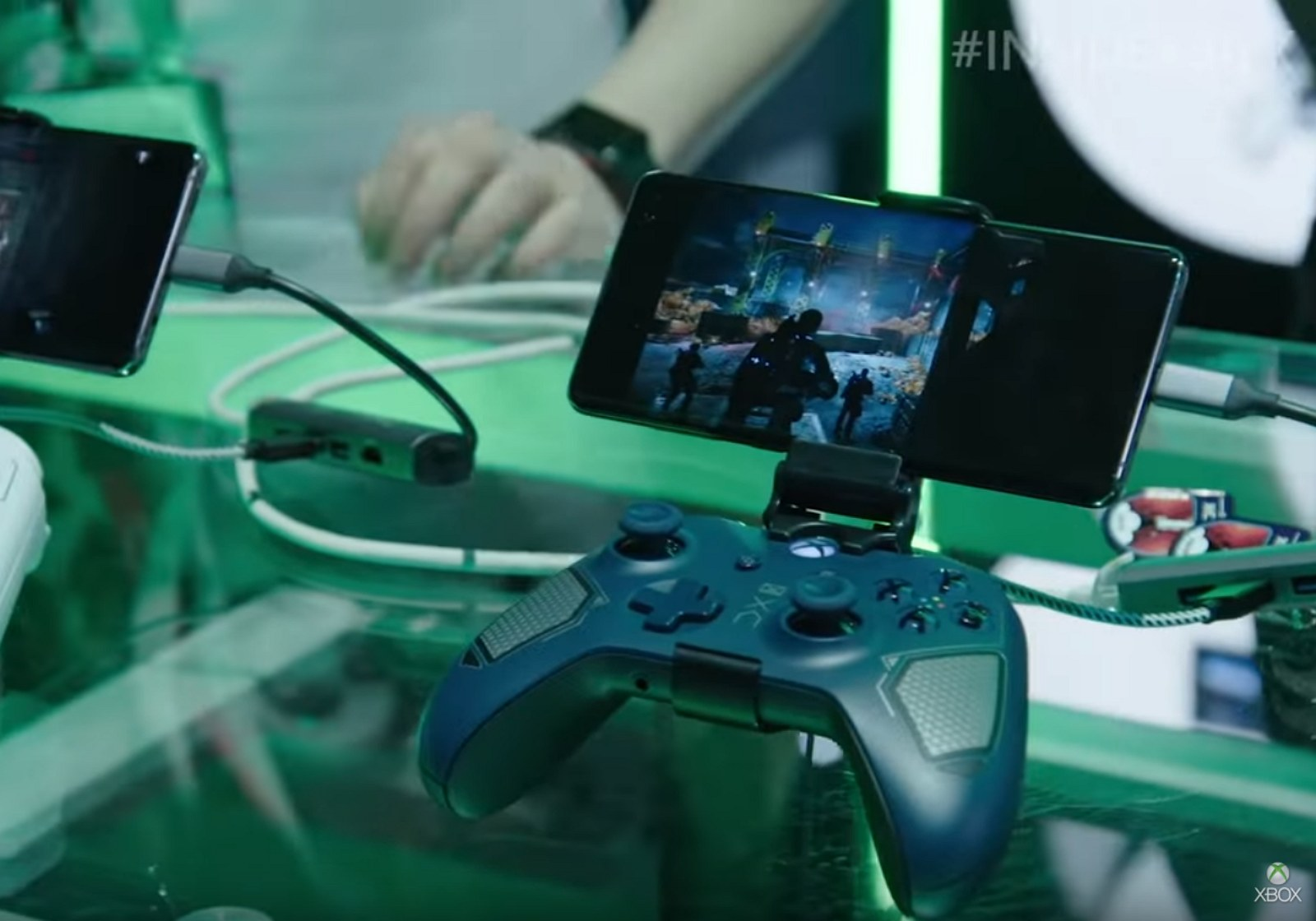 Xbox xCloud preview demo (image source Microsoft)