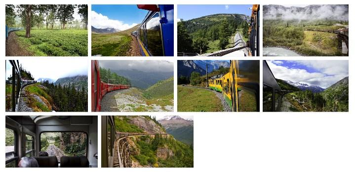 Train Views wallpaper sample