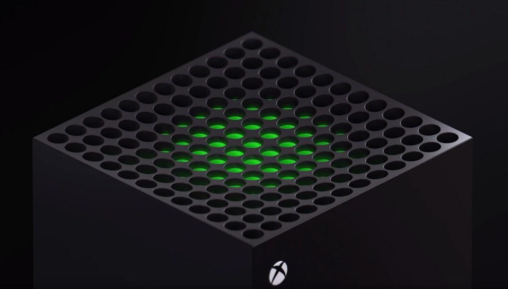 Xbox Series X top ventilation (source: Microsoft)