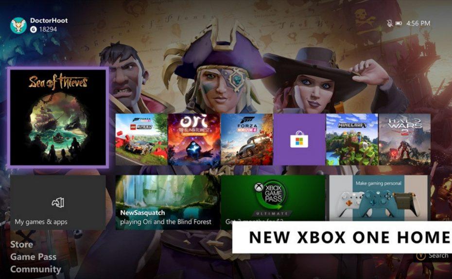 Xbox One February Update (source: Microsoft)