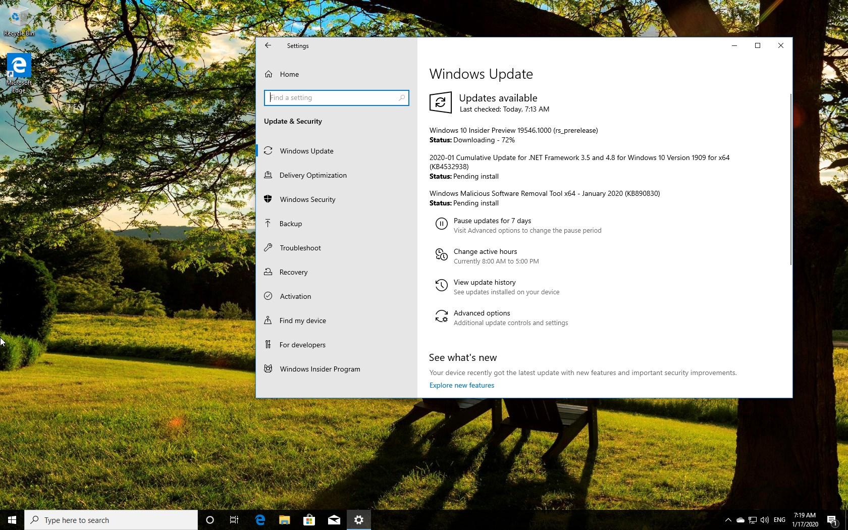 Windows 10 build 19546 download