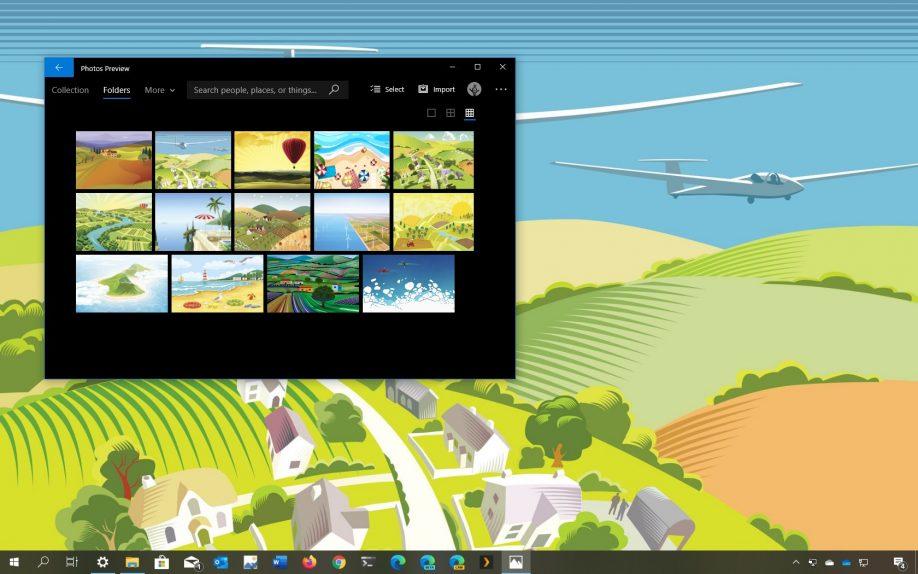 Aerial Views theme for Windows 10