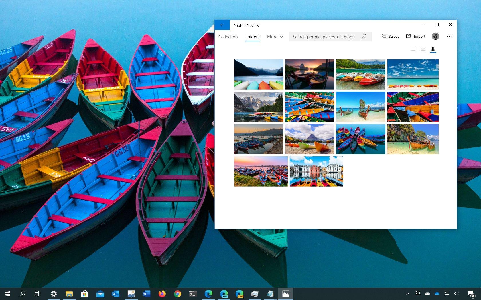 Colorful boast theme for Windows 10