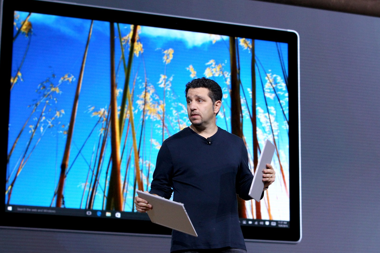 Panos Panay Surface and Windows 10 event (source: Microsoft)