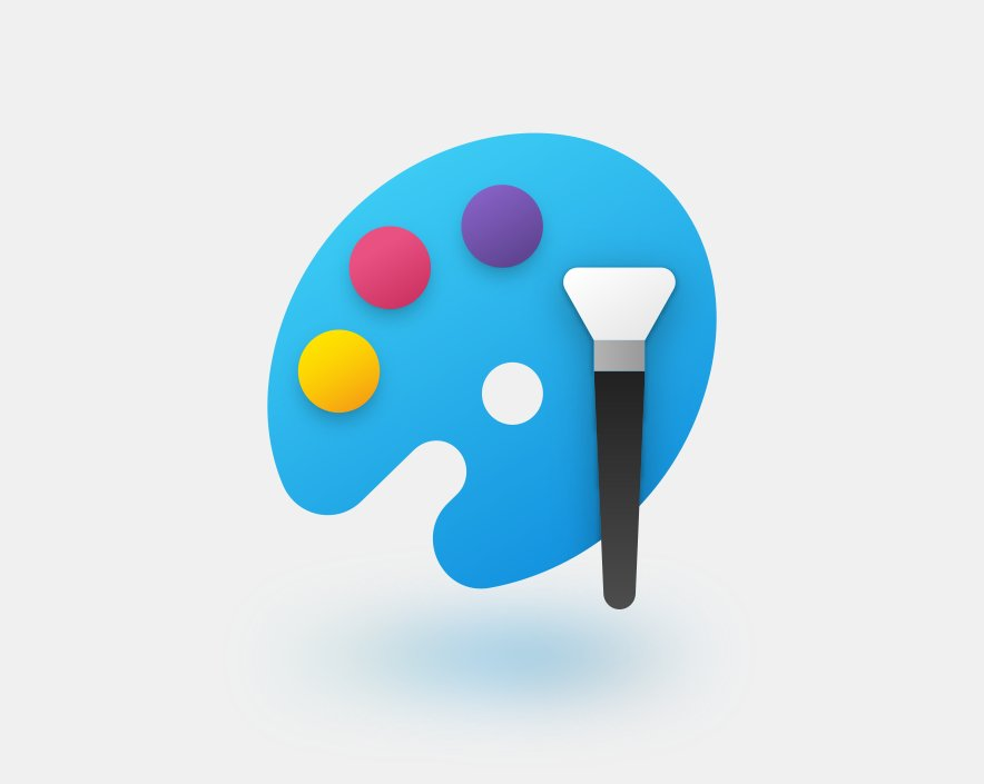 Microsoft Paint new icon (source: Microsoft)