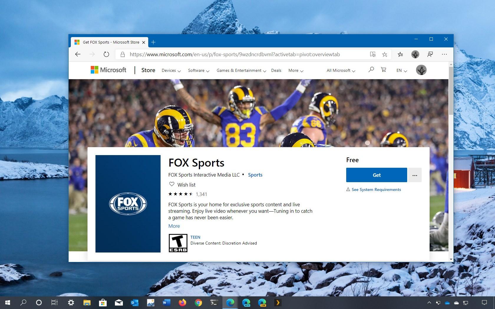 Super Bowl 2020 Fox Sports app download