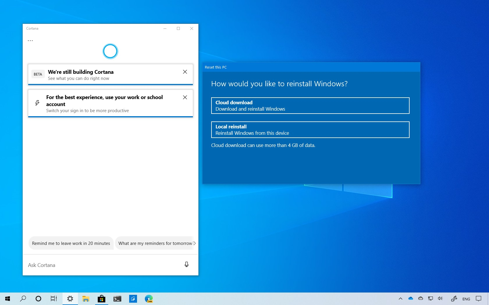 Windows 10 version 2004 best features and changes