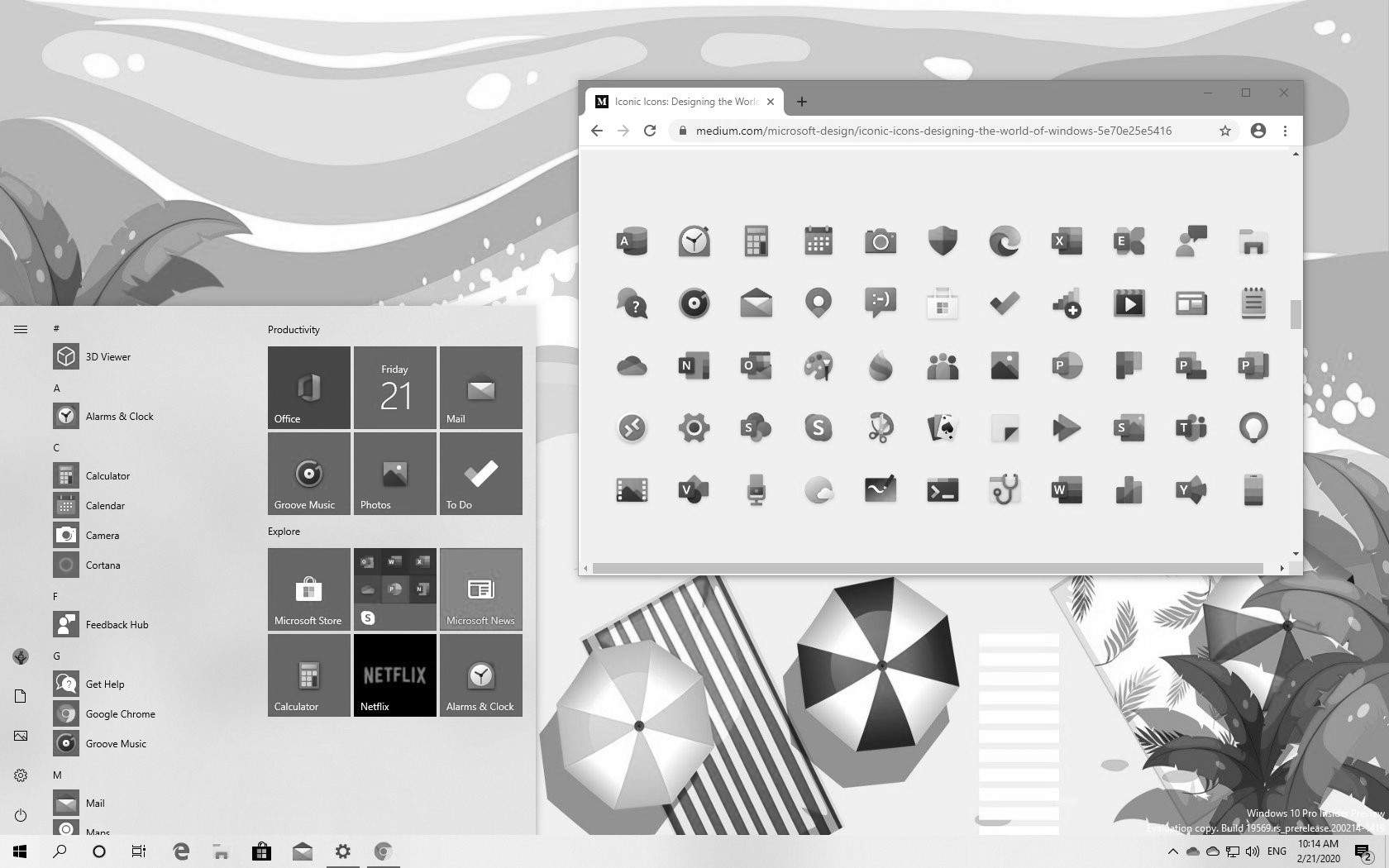 Windows 10 new icons in this Weekly Digest