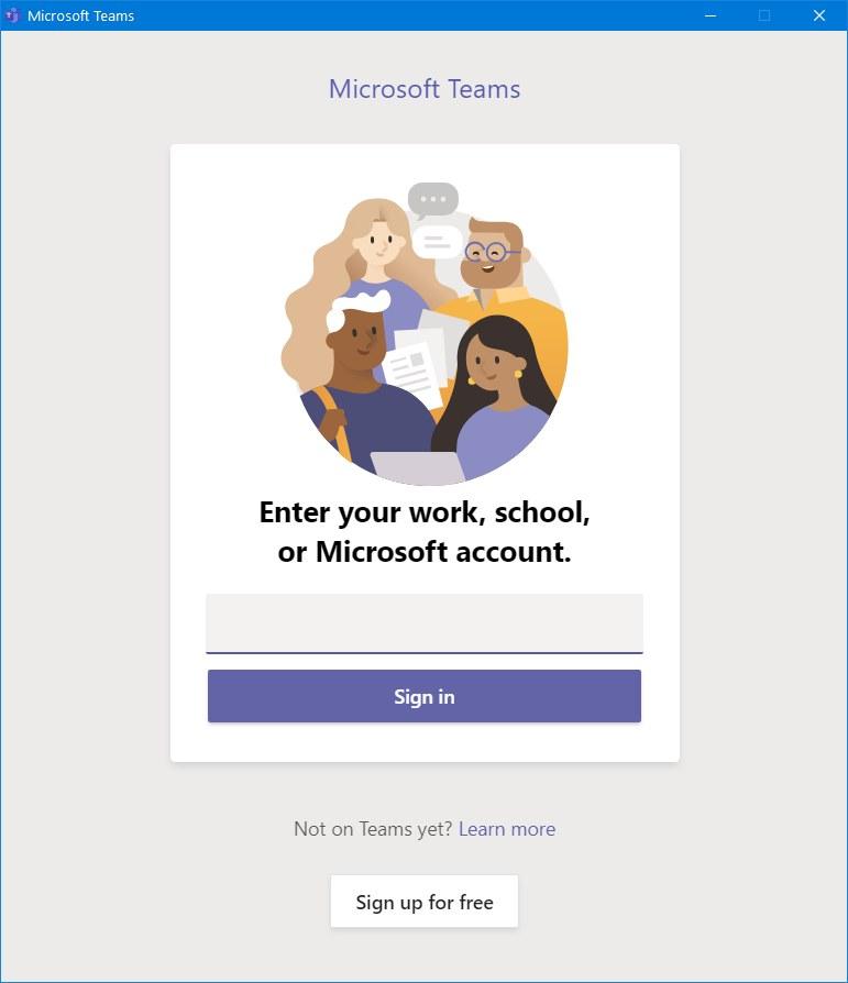 Microsoft Teams setup