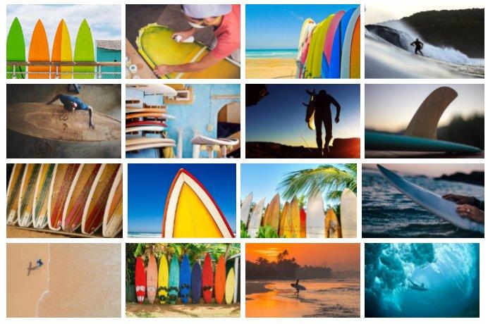 Surfboards wallpaper sample