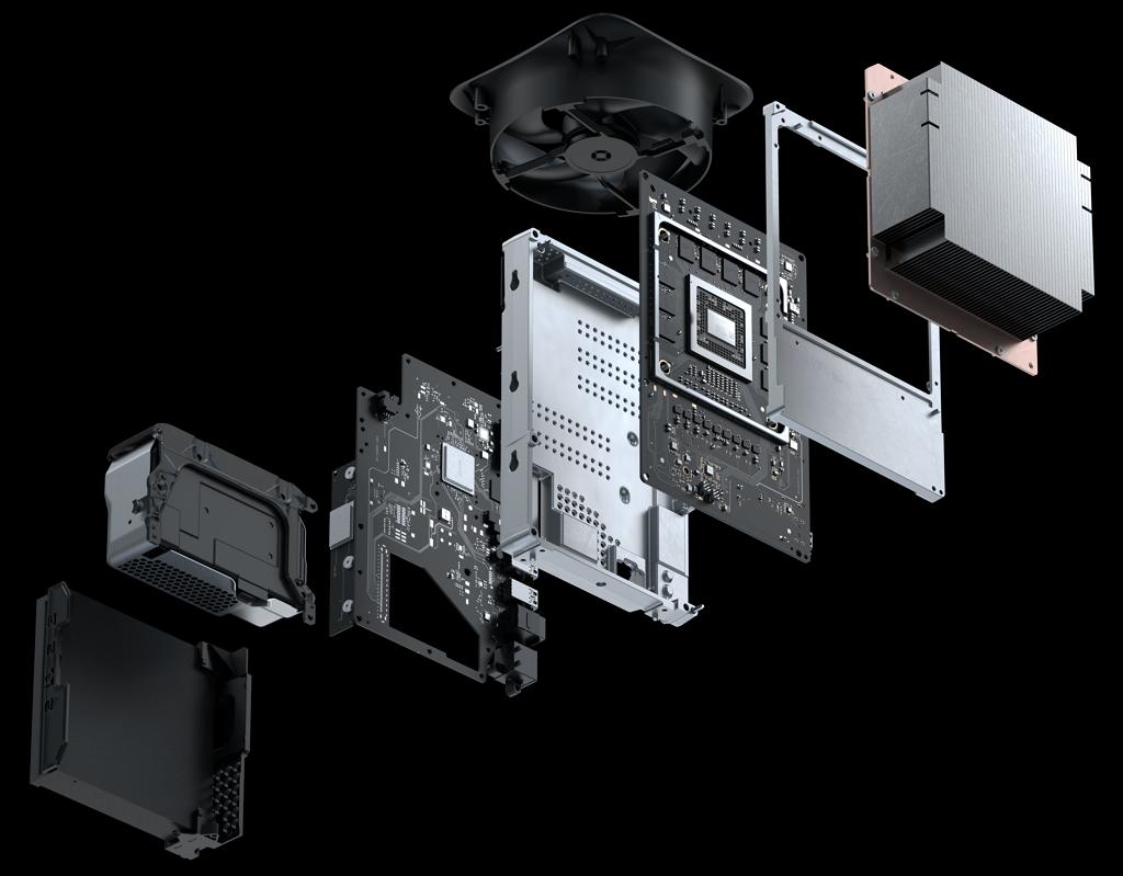 Xbox Series X hardware internals (source: Microsoft)