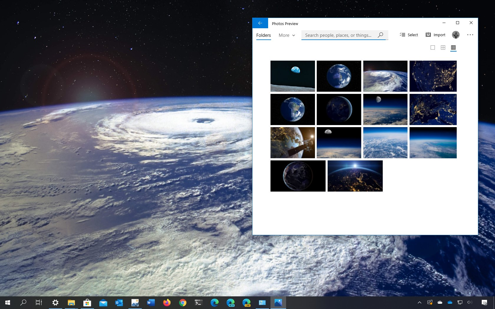 Earth from Above theme for WIndows 10